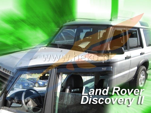 Saute vent Land rover Discovery 2 II 5-porte 1999-2004 4-tlg Déflecteurs