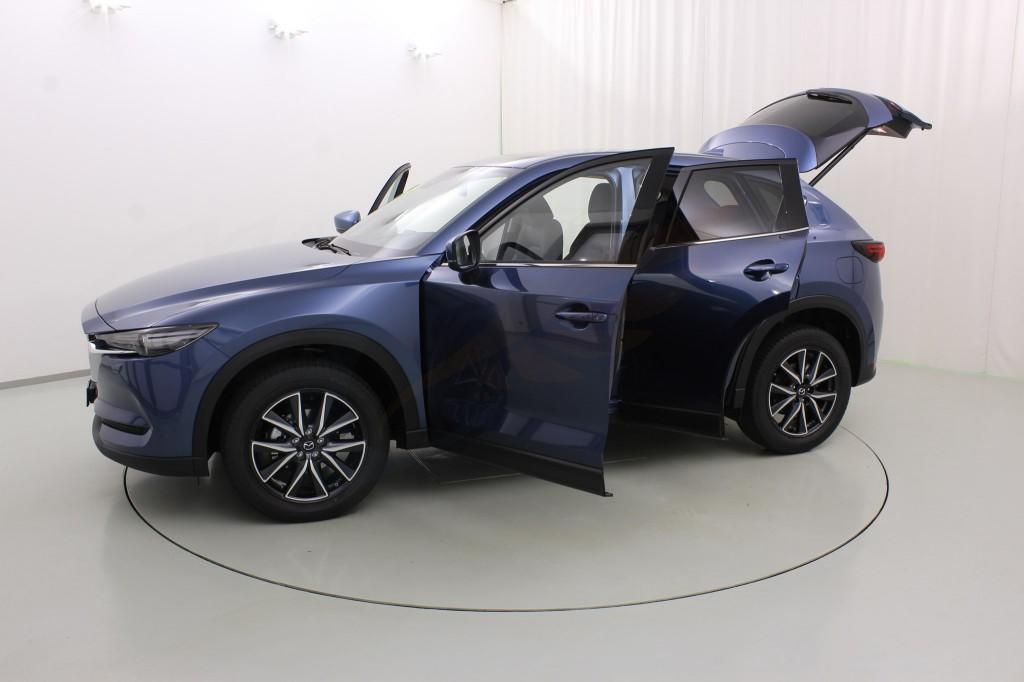 Saute vent Mazda cx-3 5-porte 2015-aujourd/'hui 4-tlg HEKO foncé Déflecteurs