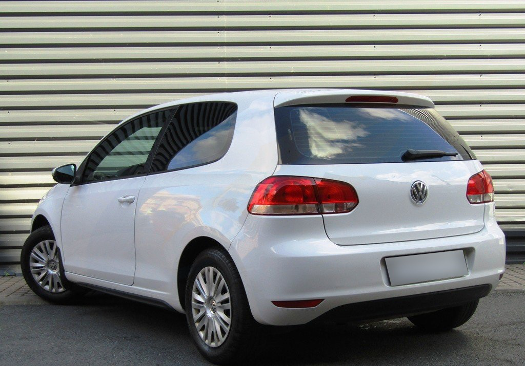 VW GOLF MK6 3-doors Hatchback 2009-2012 2-pc Wind Deflectors HEKO Tinted - £27.39 | PicClick UK
