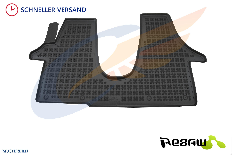 Gummi-Fußmatten Citroen SpaceTourer 1tlg ab 2016 Gummimatten dritter Sitzreihe