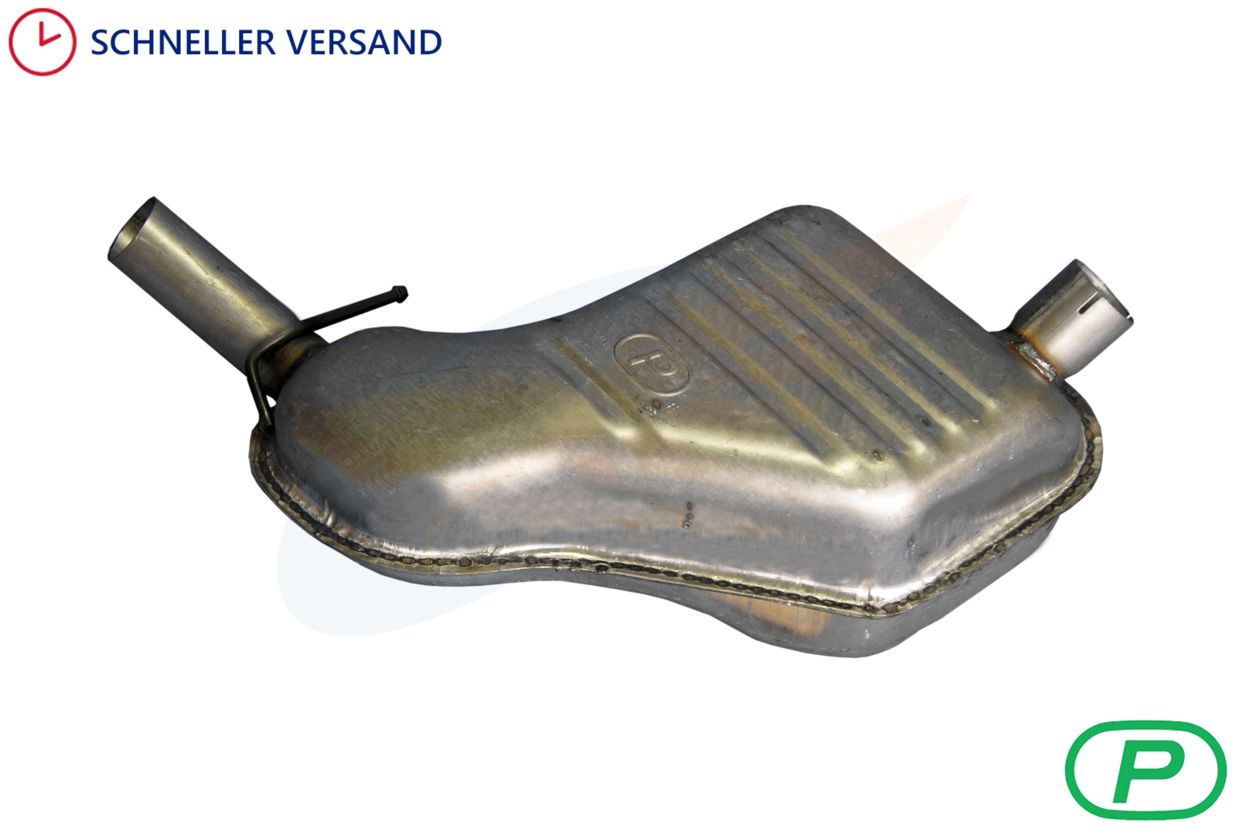Volvo V70 XC 70 XC70 Endschalldämpfer Endtopf Auspuff Auspuffanlage Abgasanlage