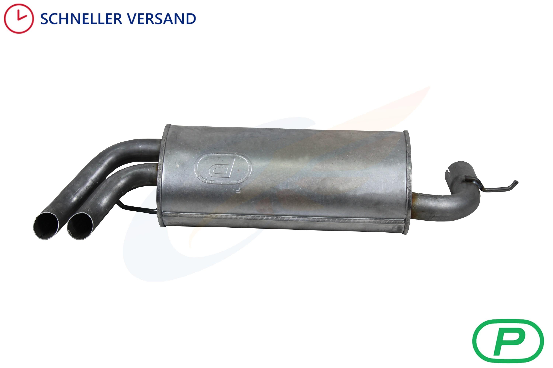 Auspuff Land Rover Freelander 1.8 Radstand 2555mm Endschalldämpfer Endtopf
