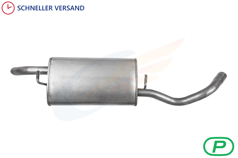 69-73 Auspuff Endschalldämpfer Endtopf Ford Capri I V6 2,0-2,6 Bj